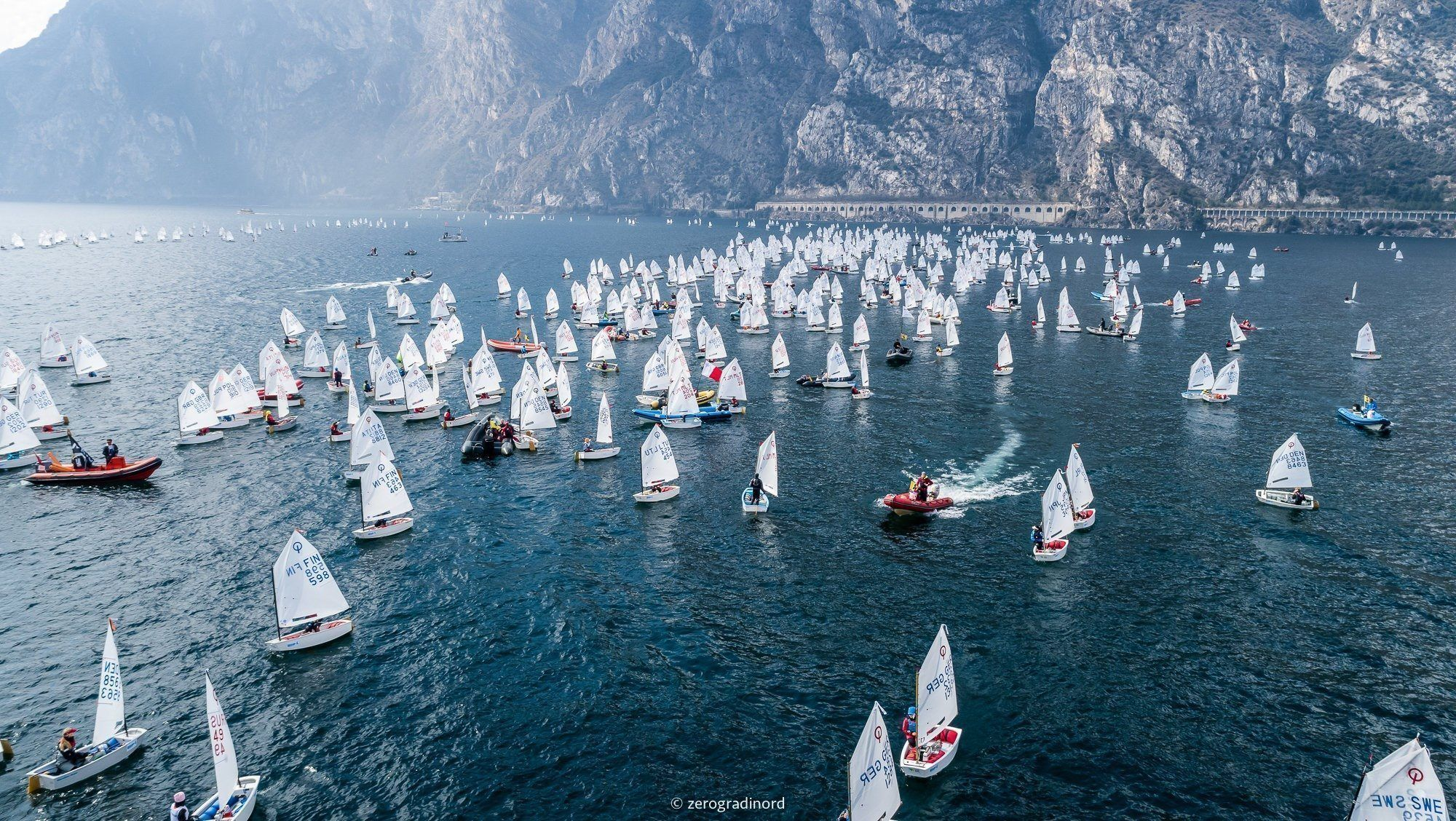 Fraglia Vela Riva, games are still open for the 38th Lake Garda Meeting Optimist